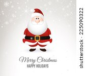 abstract christmas background... | Shutterstock .eps vector #225090322