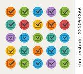 set of twenty five different... | Shutterstock .eps vector #225094366