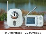 the closeup baby monitor for... | Shutterstock . vector #225095818