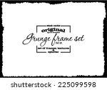 design template.abstract grunge ... | Shutterstock .eps vector #225099598