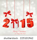 2015 new years background with... | Shutterstock .eps vector #225101962