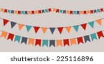 Set Of Vector Bunting Party...