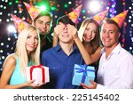 birthday party in club | Shutterstock . vector #225145402