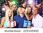 birthday party in club | Shutterstock . vector #225145402