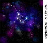 great bear constellation. true...   Shutterstock . vector #225194896