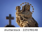 Statue Of Virgin Mary And Jesu...