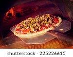 Fresh Original Italian Pizza On ...