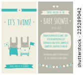 baby shower invitation ... | Shutterstock .eps vector #225289042