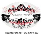 vintage frame | Shutterstock .eps vector #22529656