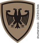 fantastic imperial eagle | Shutterstock .eps vector #225341566