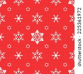 christmas mesh lace seamless... | Shutterstock .eps vector #225361972