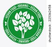 vegan food graphic design  ... | Shutterstock .eps vector #225362458