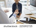 physician to the description of ... | Shutterstock . vector #225392725
