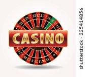 Vector Golden Sign For Casino...