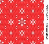 christmas mesh lace seamless... | Shutterstock . vector #225438832