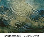 a beautiful close up of ripples ... | Shutterstock . vector #225439945
