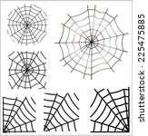 spider web. vector   Shutterstock .eps vector #225475885