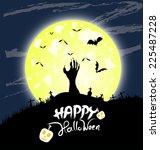 happy halloween | Shutterstock . vector #225487228