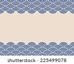 pattern wave | Shutterstock .eps vector #225499078