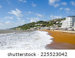 the beach and promenade at... | Shutterstock . vector #225523042