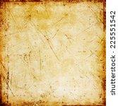 grunge brown background  | Shutterstock . vector #225551542