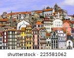 porto  portugal cityscape... | Shutterstock . vector #225581062