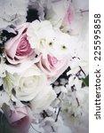 vintage rose | Shutterstock . vector #225595858
