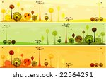 forest background | Shutterstock .eps vector #22564291