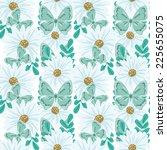 abstract elegance seamless... | Shutterstock .eps vector #225655075