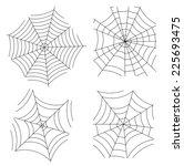 spider web. vector | Shutterstock .eps vector #225693475