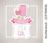 Baby Shower Card  It's A Girl