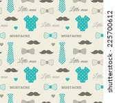 little man seamless pattern.... | Shutterstock .eps vector #225700612
