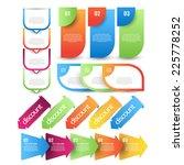 web element set best for sale... | Shutterstock .eps vector #225778252