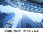 buildings  low angle view | Shutterstock . vector #225817168
