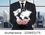 Businessman Hands Carrying The...