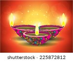 diwali diya | Shutterstock .eps vector #225872812