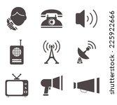 communication information media ... | Shutterstock .eps vector #225922666
