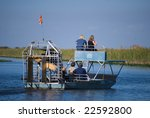 Airboat Ride In The Florida...