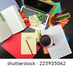 creative workplace   Shutterstock . vector #225935062