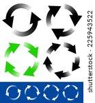 circular arrows | Shutterstock .eps vector #225943522