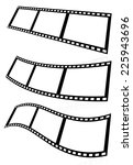 filmstrips vectors for... | Shutterstock .eps vector #225943696