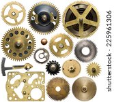 Clockwork Spare Parts. Metal...