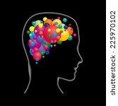concept intelligent person | Shutterstock . vector #225970102