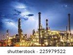 oil indutry refinery   factory... | Shutterstock . vector #225979522