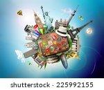 travel  | Shutterstock . vector #225992155