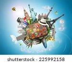 travel  | Shutterstock . vector #225992158
