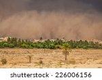 Sandstorm In Gafsa Tunisia