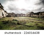Old Abandoned Farm Cottage