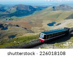 Snowdon Mountain Railway Train...