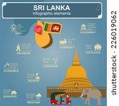 sri lanka  infographics ... | Shutterstock .eps vector #226019062